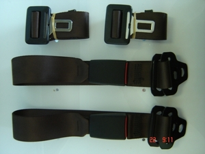 Static Lap Belt / Webbing Buckle